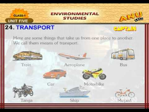 Shemaroo kids , Modes Of Transport , Kids Learning Videos