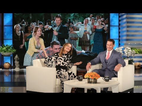 Leslie Mann Talks About John Cena's 'Butt Meat'