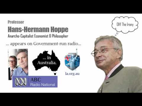 Hans-Hermann Hoppe's Interview on ABC's Counterpoint