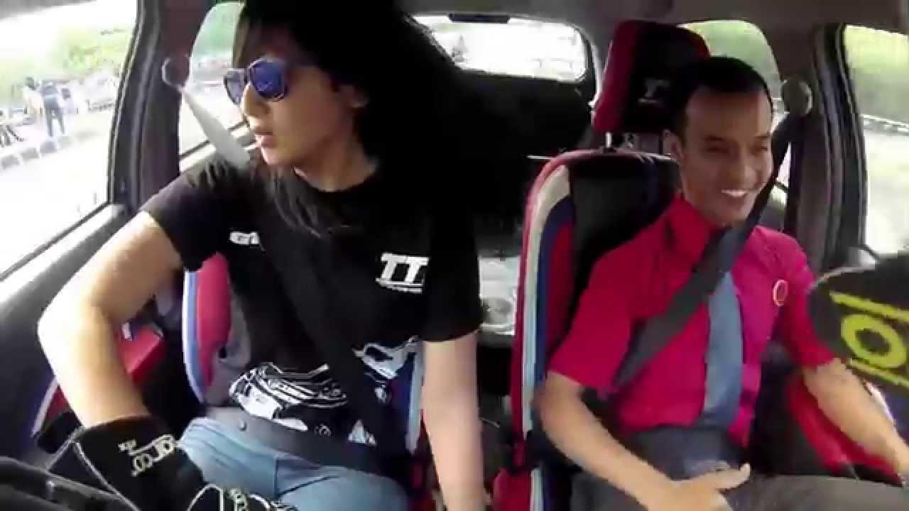 Toyota Team Indonesia Toyota Etios Demo Alinka Hardianti