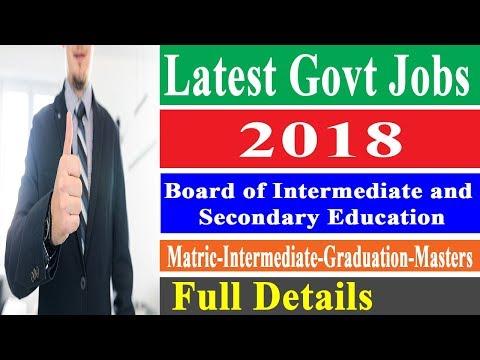 School Education Department Punjab Jobs in 2018 - Govt Jobs Finder
