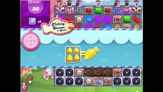 How to beat level 1145 on Candy Crush Saga!!
