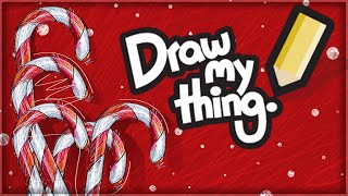 CHRISTMAS! | DRAW MY THING! (With Facecam)