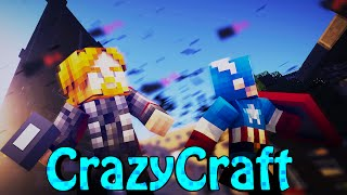 "Minecraft | Crazy Craft 2.0 - OreSpawn Modded Survival Ep 155 - ""SUPER HEROES VS JURASSIC PARK"""