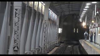 東武亀戸線と分岐して京成押上線並走してくる東武伊勢崎線の曳舟駅~とうきょうスカイツリー駅間を走行する10000系の前面展望