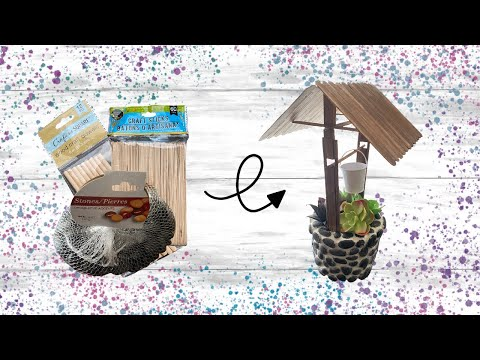 easy-diy-wishing-well-|-dollar-tree-diy