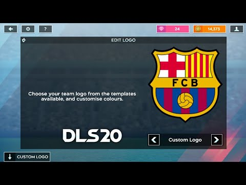 How To Import Fc Barcelona Logo And Kits In Dream League Soccer 2019.