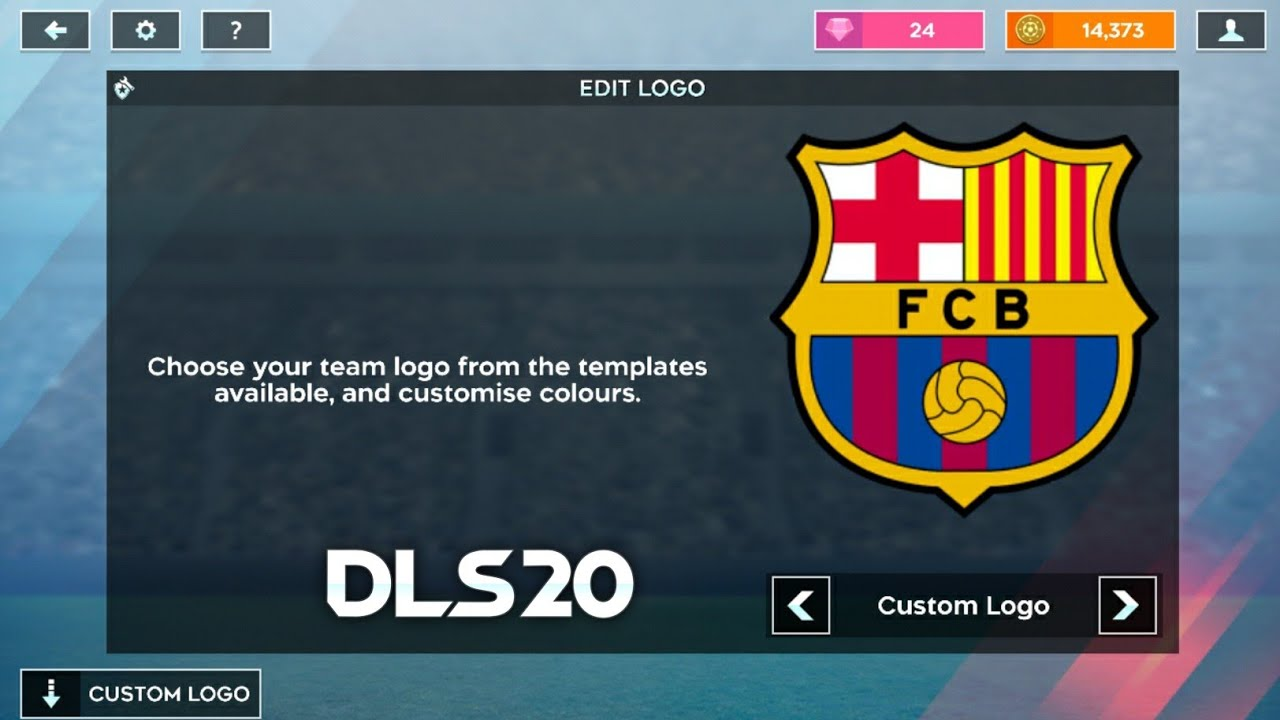 How To Import Fc Barcelona Logo And Kits In Dream League Soccer 2020