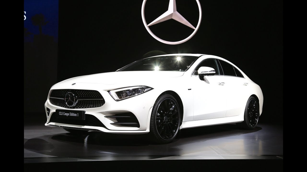 2018 Mb Cls550 >> 2019 Mercedes Benz CLS Coupe FIRST LOOK - YouTube