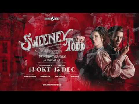 Sweeney Todd 2018 - Repen har börjat!