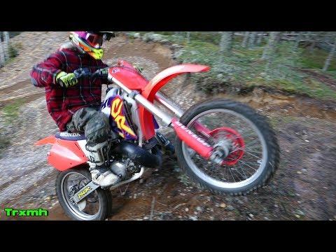Honda CR250 Ride - Raw 2-Stroke Sounds