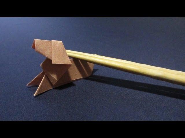 簡単 折り紙 : 折り紙で作る箸置き : kinarino.jp