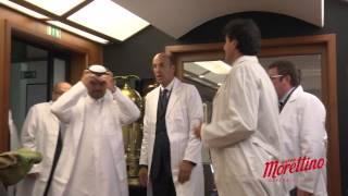 VediPalermo - Ali Bin Thamer al Thani al Museo del Caffè Morettino