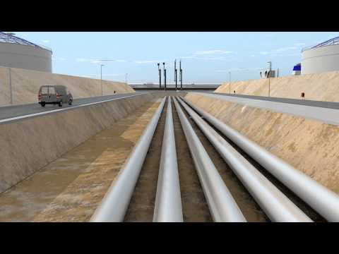 3D animation Emerson Oil Terminal proceedings