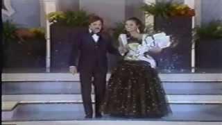 Miss Brasil 1985 - Trajes de noite (elegância)