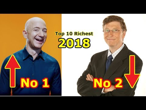 Top 10 Richest People In The World 2018 #MyFamous10