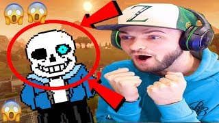 I FOUND SANS UNDERTALE IN FORTNITE???(GONE SEXUAL)