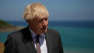 video: Boris Johnson infuriated after Emmanuel Macron suggested Northern Ireland was not part of UK