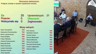 XIX sesja Rady Miasta Działdowo (30.06.2020 r.)