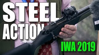 News from Steel Action - Straight pull rifle - Syntehic stock (IWA 2019)