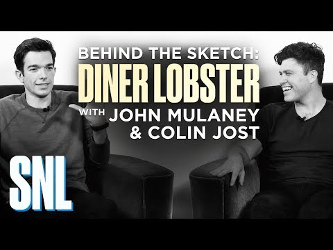 Behind the Sketch: Diner Lobster with John Mulaney and Colin Jost - SNL