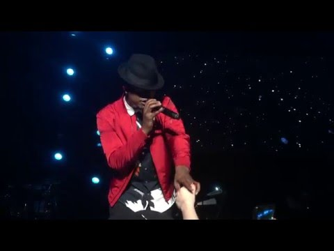 Ne-Yo - Let Me Love You (Mario) Cover (2016 Grammy Park Concert in Brooklyn)