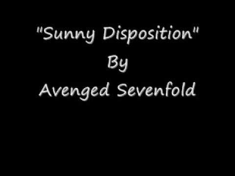Avenged Sevenfold - Sunny Disposition Lyric HD