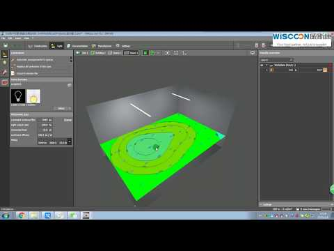 How to import IES file for Dialux Simulation