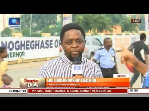 Channels TV Correspondent Gives Update On Edo Governorship Election