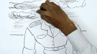 How to Draw a Military General