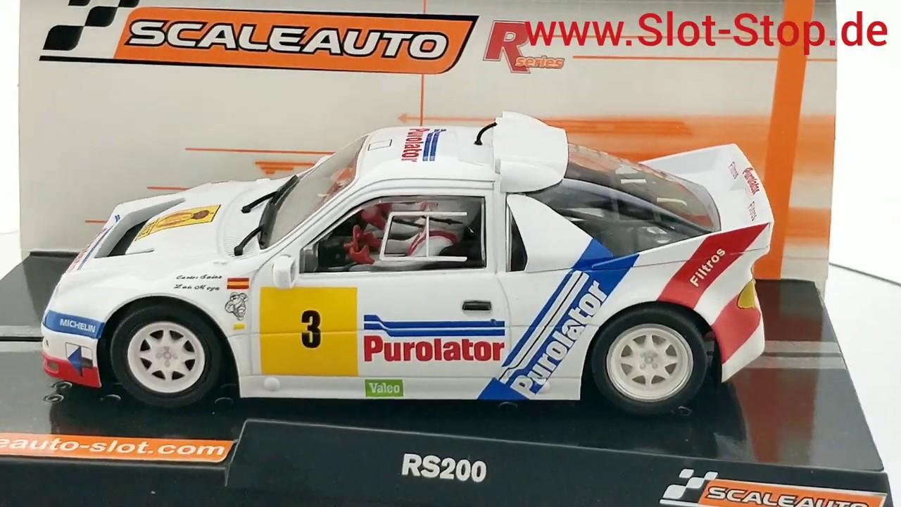 Scaleauto SC-6185R Ford RS 200 Purolator n.3 Carlos Sainz