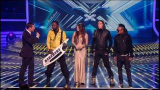 Meet me Halfway :: Black Eyed Peas :: XFactor live performance
