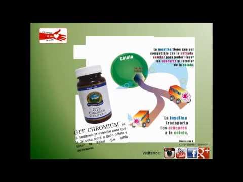 dosis de cromo para la diabetes