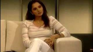 Tennis sensation Sania Mirza talks to Sexy Pooja Bedi I