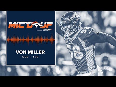 Mic'd Up: Von Miller in #CLEvsDEN | Denver Broncos