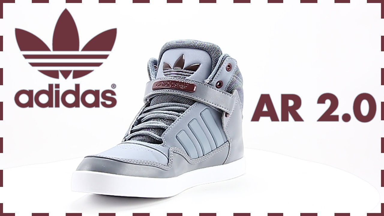 b6109f9374b Adidas ar 2.0 grijze hoge sneaker / Adidas ar 2.0 gray high sneaker / Stone  Tech G96141. Sooco