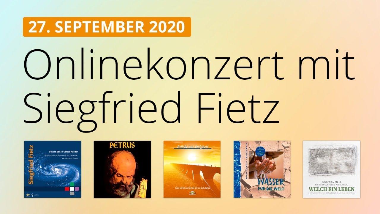 Online-Konzert am 27.09.2020
