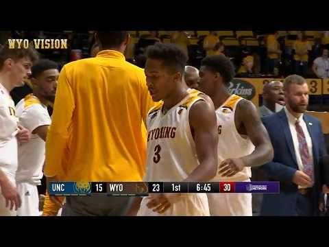 Wyoming MBB Highlights vs Northern Colorado