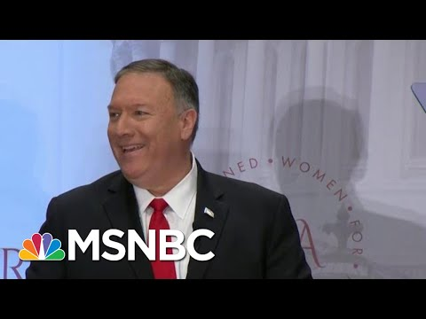 Mike Pompeo jokes about speaking at Trump Hotel, brushes off conflicts of interest