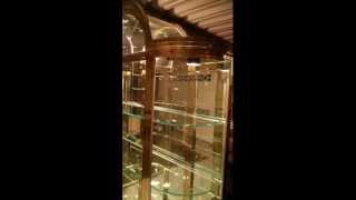 Design Institute America Series 74 Curio Cabinet