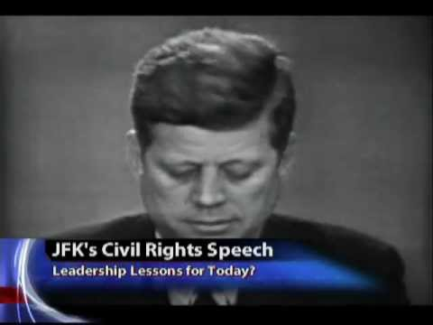 JFK's Civil Rights Speech: Leadership Lessons for Today?