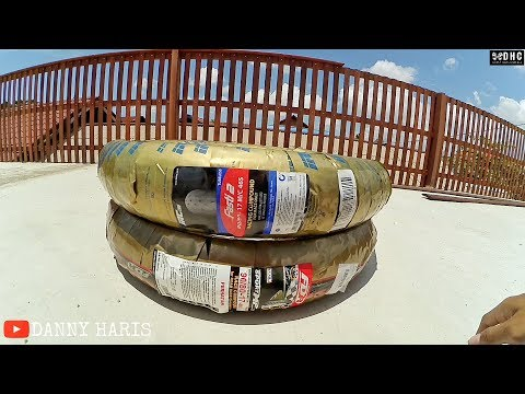 Unboxing ban motor : FDR MP 76 & IRC Fasti 2, Cocok untuk harian dan buat yg suka cornering !