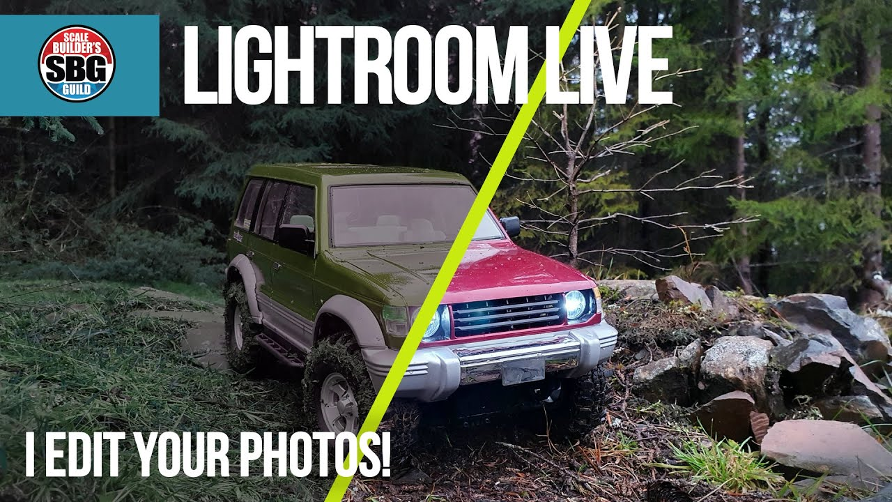 Editing your RC photos LIVE! - Adobe Lightroom Ep27