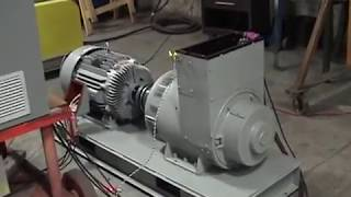 Horlick Model 400SC 50Hz to 400Hz Motor-Generator Set Performance