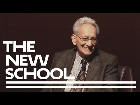 Frank Stella At The Parsons Table with Paul Goldberger | Parsons School of Design