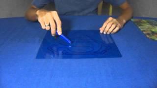 Cortando o Molde de Pintura de Radiografia - Stencil