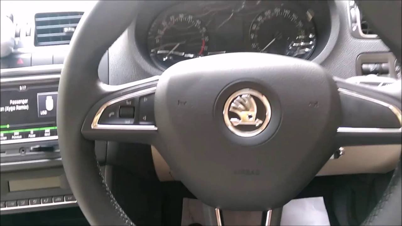 New Skoda Rapid Interior Youtube