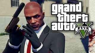 GTA 5 UNLIMITED #10 - HITMAN IN GRAND THEFT AUTO! (GTA V Online)
