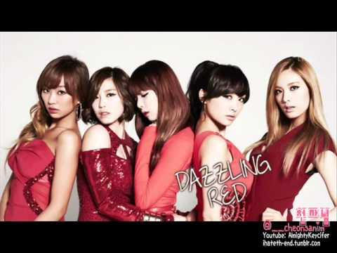 [AUDIO] Dazzling Red (HyunA, Nana, Hyorin, Hyosung, Nicole) - This Person (MP3 download link)