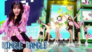 [HOT]  AOA -  Bingle Bangle , 에이오에이- 빙글뱅글  Show Music core 20180609